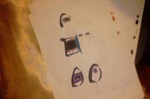 Petit dessin que j'ai fais Partie 2 dite m'en des nouvelle svp