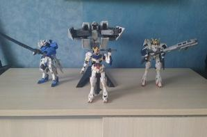 mes maquettes de gundams iron