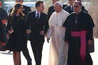 La visite du pape