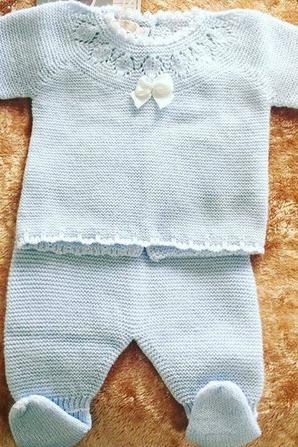 Premier vêtement de mon bébé