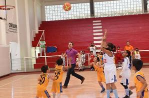 Basket ball merveilleux