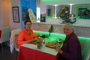 CIAO soirée  pizza avec mon amie d'enfance Gabine