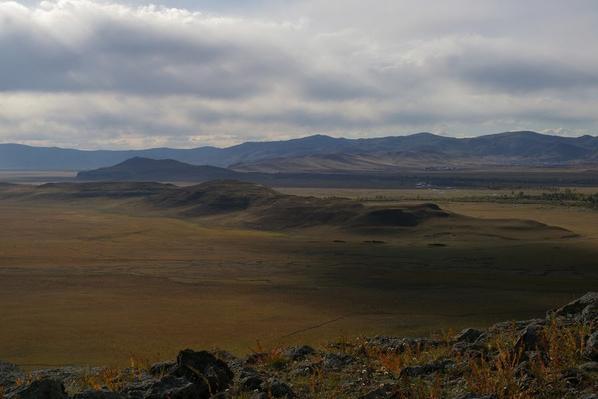 Mongolie, le pays du ciel bleu.