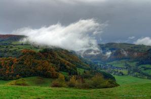 L'Auvergne c'est pas beau ? Voici le Cantal, un des 4 départements.