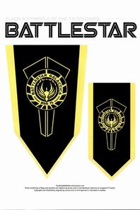 Battlestar Galactica BSG The Flags & Symbols Of The 12 Colonies