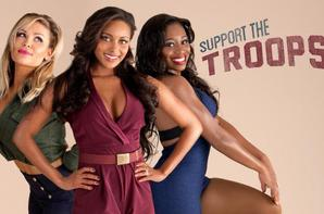 Voici : Les Diva Pinup Gallery Support The Troops !