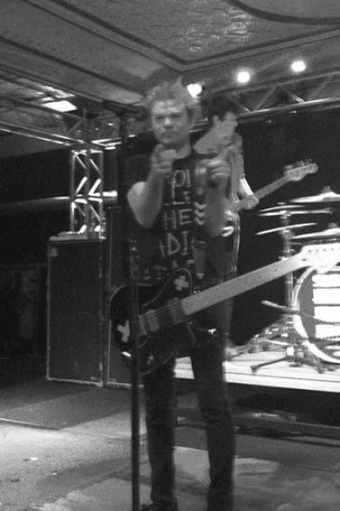 Photo du concert d'hier .