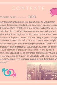 Exemple de créations RPG