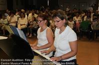 CONCERT Audition Fête de la Musique  Atelier du Rival MONTROND-les-BAINS avec  Ecole de Musique FOREZ AMADEUS