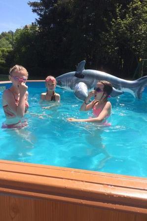 piscine a 28 degrés ;)