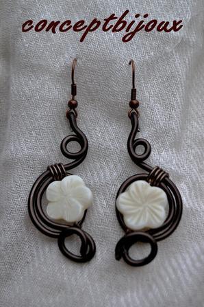 fleurs ivoire