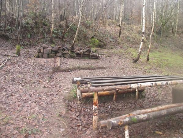 Première photo du camps