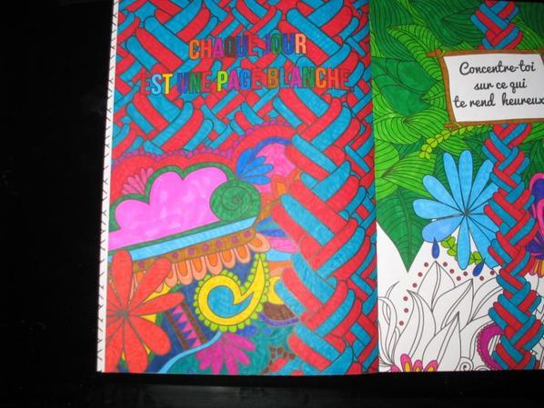 Coloriages pensées positives