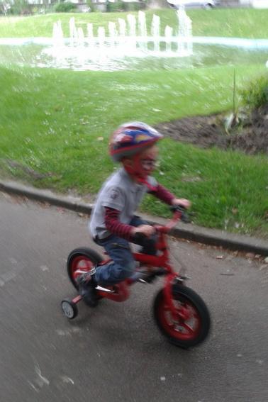 une balade en vélo