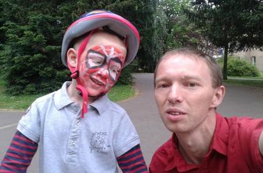 scéances photos avec mon spiderman