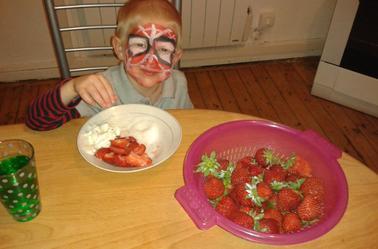 mon mangeur de fraises