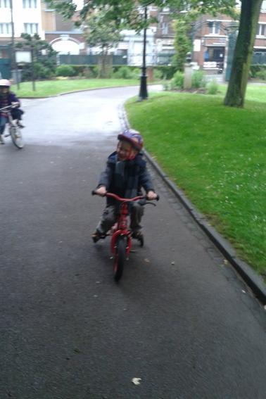 un bon tour en vélo