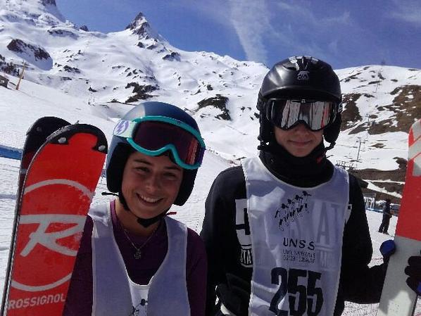 Et à Luz Ardiden c'était le Défi Jeunes Ski !