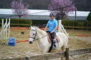 L'équipe des bleues de retour à cheval à Nay !