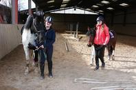 Journée N°4 option Hippologie Equitation STAV de Jean Monnet !