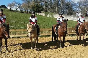 Mercredi 7 mars : Rencontre amicale de Pony Games à Nay