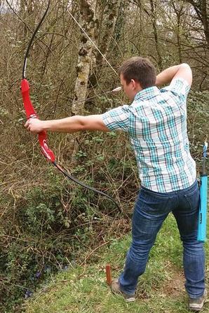 Sortie Tir à l'arc sur le Parcours Nature des Archers de Fébus