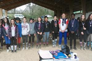 28 mars 2018 Championnat Départemental UNSS Equitation à Castelnau Magnoac !