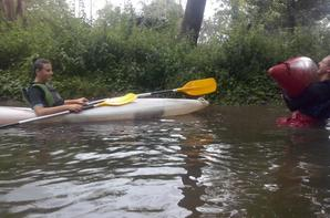 EIE Kayak avec le 1er groupe des 2ndes PRO NJPF