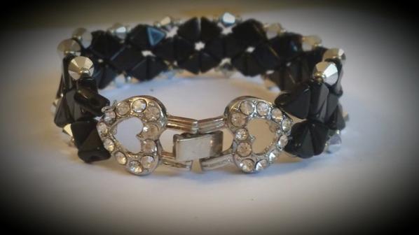 """bracelet Kheops """"black diamond"""""""