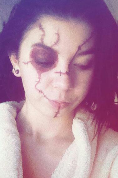 makeup idée Halloween