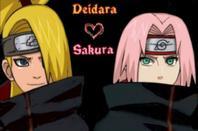 Deidara x Sakura