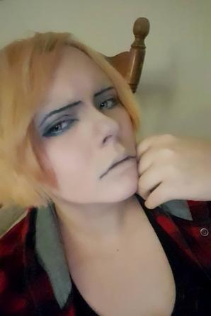 Two more photo of my Levi makeup !