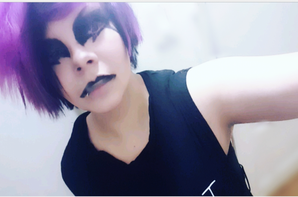 Hitsugi from the band Nightmare ( Naitomea ) costest !