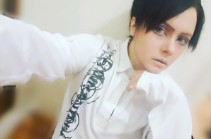 Levi Ackerman cosplay.