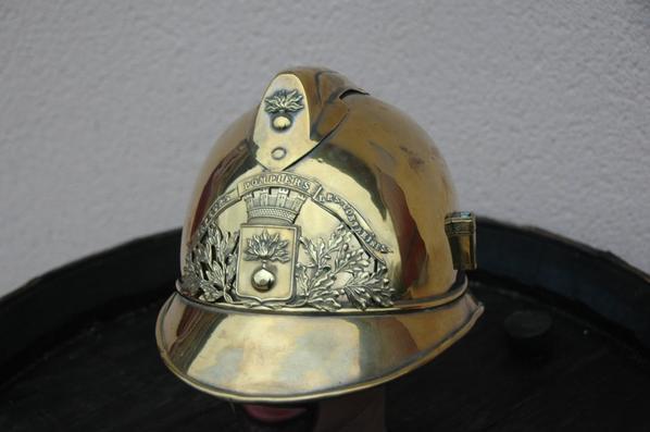 casque pompier 1900 des contamines