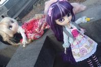 Shooting avec deux filles merveilleuse : Sanako & Mitsu Puis Mutsumi ♥