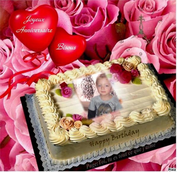 joyeux anniversaire a notre petite fille kesylia et notre beaux garson didier bisou