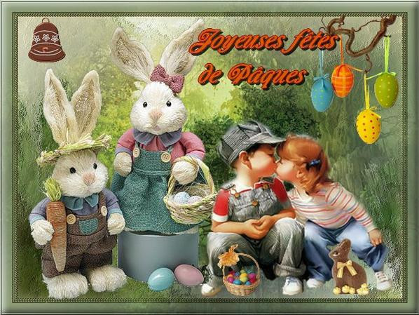 bonne fête de pâque a tous mes amies et amis