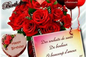 Joyeux Anniversaire Mon Coeure Je T Aime Mon Amour Ma Famille