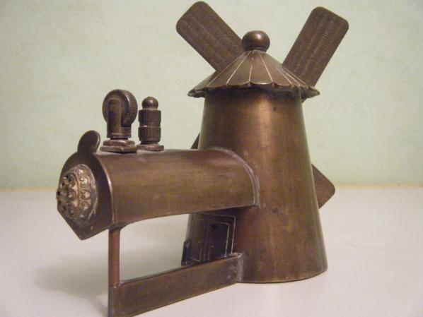 briquet dans un moulin