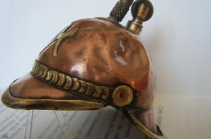 briquet artisanal casque Allemand