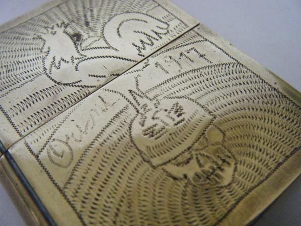 briquet de poilu livre thème patriotique