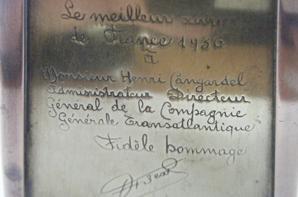 BRIQUET 1938 ARTISANAT D'UN MOF
