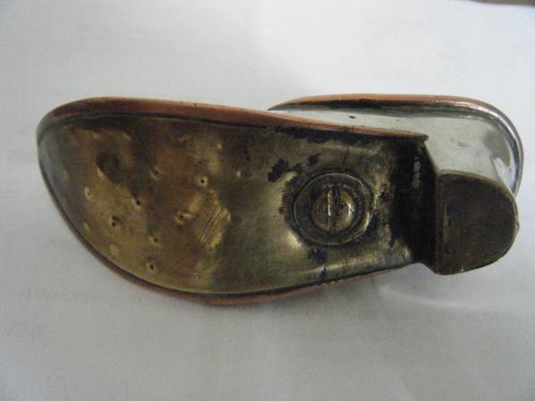 briquet chaussure/trench lighter/briquet de poilu