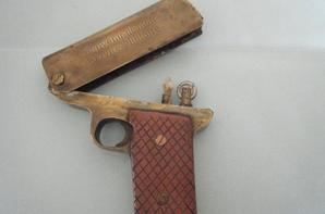 briquet pistolet SOUVENIR SERVICE MILITAIRE