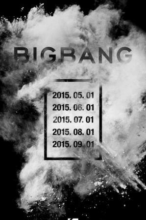 Les BIGBANG annoncent une tournée mondiale pour cette année