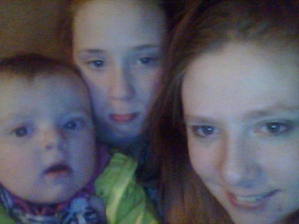 me, my sister morgan, and my baby girl