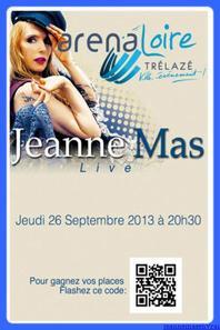 CONCERT de TRELAZE (49 - Maine-et-Loire) - Le jeudi 26 septembre 2013 -  Le compte-rendu