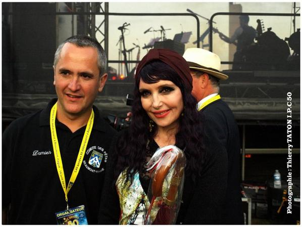 Samedi 14 juin 2014 - JEANNE MAS en concert - à Beaumont -Hague (50 - La Manche) Les photos des backstages