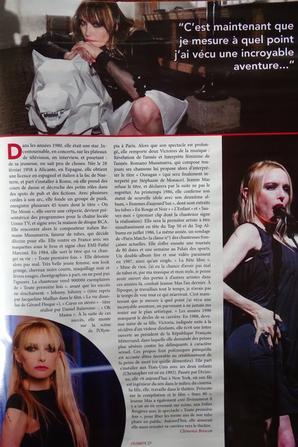 """NEWS PRESSE - JEANNE à la une du magazine """"Célébrités"""""""